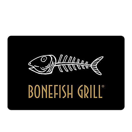 Bonefish Grill eGift Card - Various Amounts (Email Delivery)