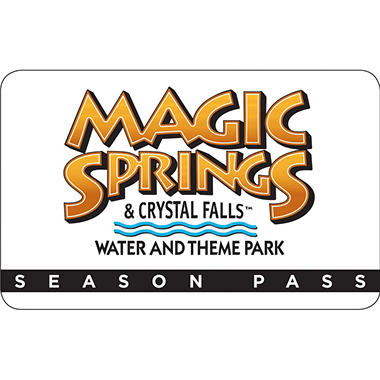 Magic Springs/Crystal Falls Season Pass