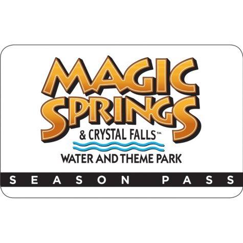 Magic Springs/Crystal Falls Season Pass