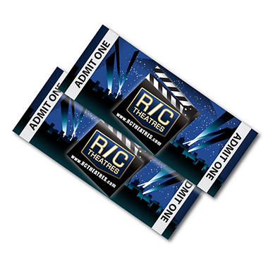 R/C Theatre Gift Card -  2 TICKETS