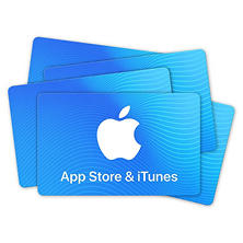 iTunes Code- Various eGift Amounts (Email Delivery)