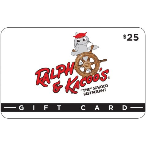 Ralph and Kacoo's $50 Value Gift Cards - 2 x $25