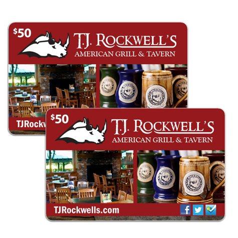 TJ Rockwell's - 2/$50