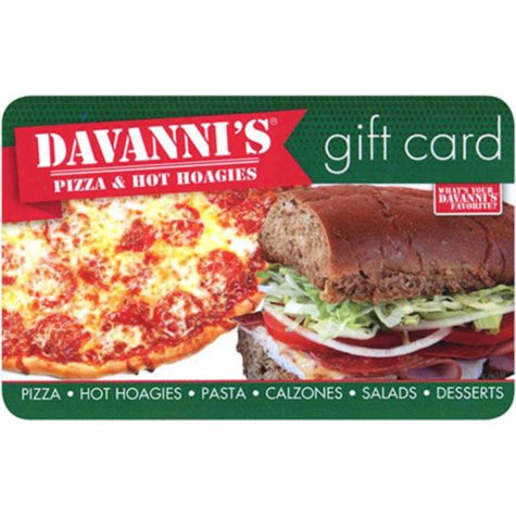Davanni's Pizza & Hot Hoagies - 2 x $25