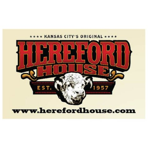 Hereford House (KS, MO) $50 Value Gift Cards - 2 x $25