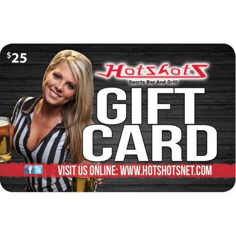 Hotshots Sports Bar & Grill (MO, IL) $50 Value Gift Cards - 2 x $25