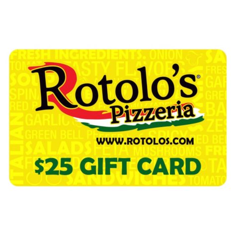 Rotolo's Pizzeria $50 Multi-Pack - 2/$25 Gift Cards