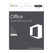 Microsoft Office Home & Business 2016 for Mac, 1 Mac