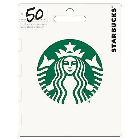 Starbucks Gift Card - $50 Value
