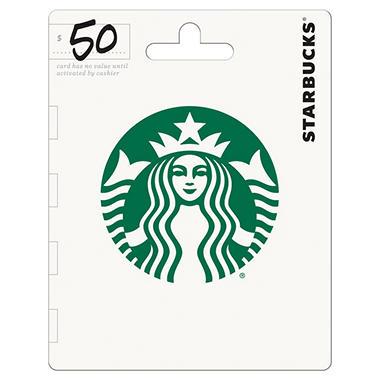 Starbucks gift card 50 value sams club starbucks gift card 50 value negle Choice Image