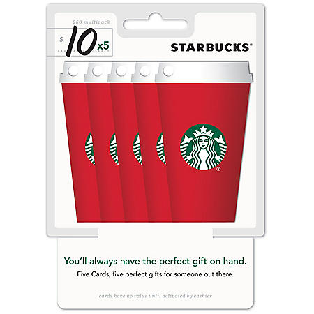 Starbucks Red Cup - 5 X $10