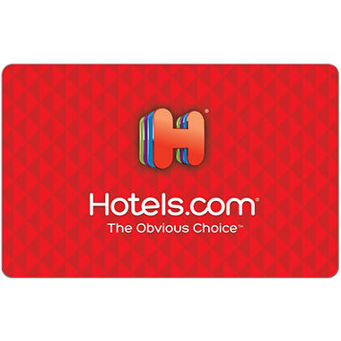 Hotels.com eGift Card Various Amounts (Email Delivery)