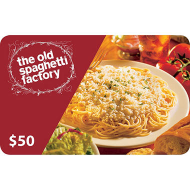 The Old Spaghetti Factory Gift Card - 2/$50