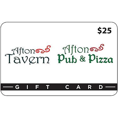 Afton Tavern & Afton Pub & Pizza - 4 x $25 for $79.98