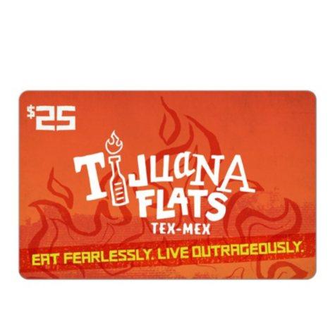 Tijuana Flats $25 eGift Card (Email Delivery)