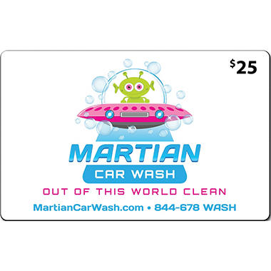 Martian Car Wash - 2 x $25 for $40