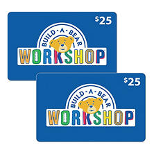 Build-A-Bear Workshop Various Values Gift Cards