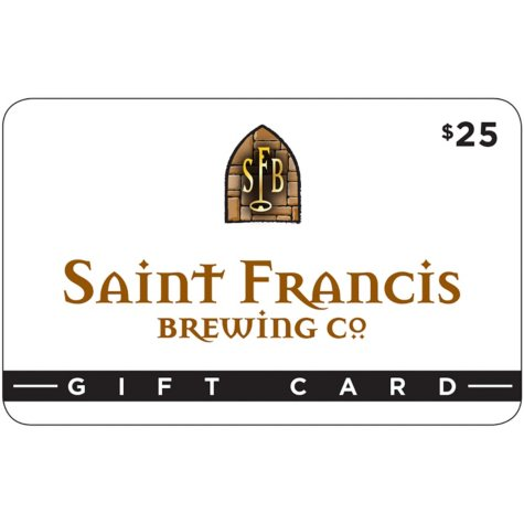 Saint Francis Brewery - 2 x $25