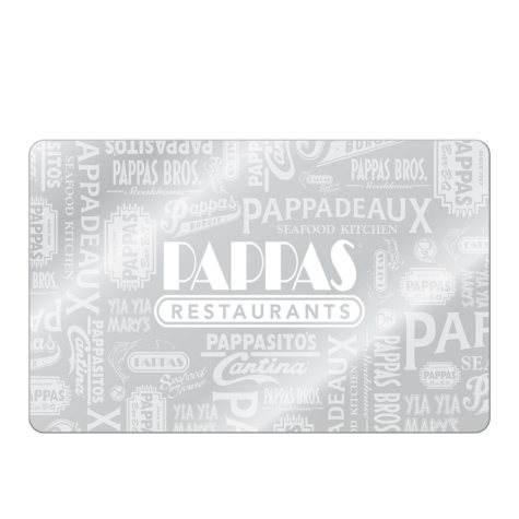 Pappa's eGift Card (Email Delivery) - Various Amounts