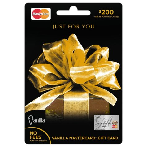 Vanilla® MasterCard® Gift Card - Various Amounts