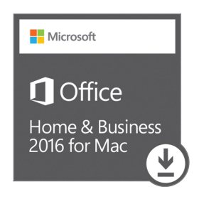 Microsoft Office Home and Business for Mac eGift Card (Email Delivery)