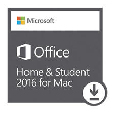 Microsoft Office Home and Student for Mac eGift Card (Email Delivery)