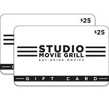 Studio Movie Grill - 2/$25