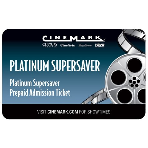 Cinemark - California Only - 2 tickets
