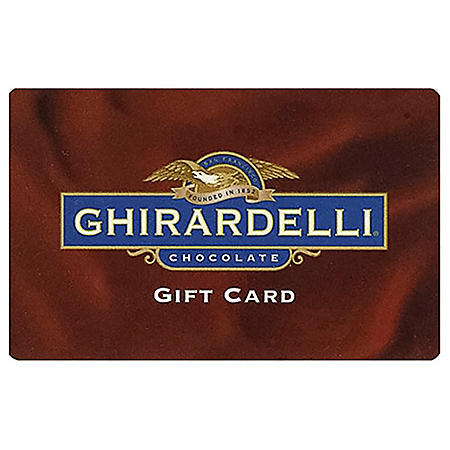 Ghirardelli $50 Value Gift Cards - 2 x $25