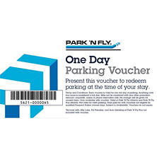 Park 'N Fly Atlanta - 5 days of airport parking for $30