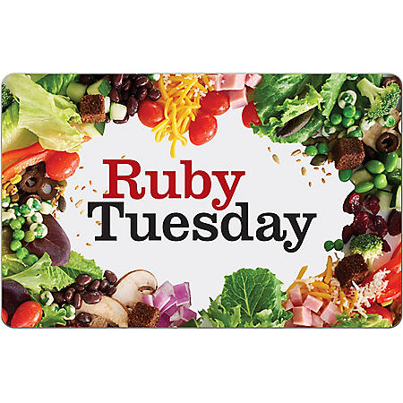 Ruby Tuesday $25 eGift Card