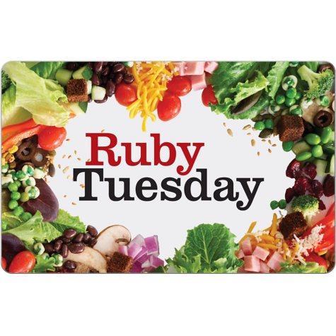 Ruby Tuesday $25 eGift Card