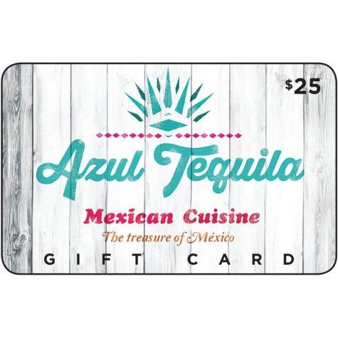 Azul Tequila Mexican Cuisine  - 2 x $25