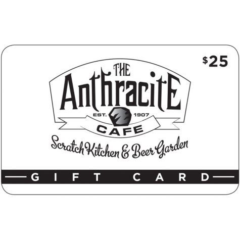 The Anthracite Cafe - 2 x $25 for $40