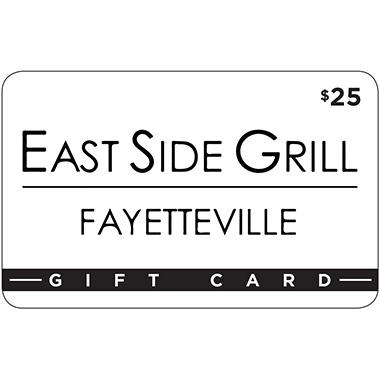 East Side Grill 2 X $25 for $40