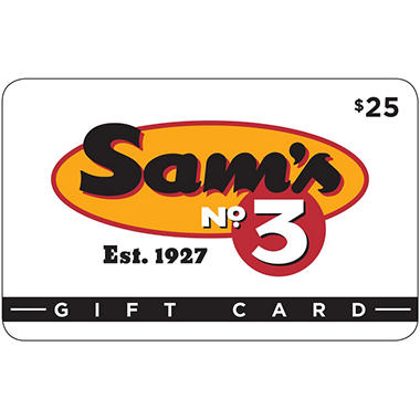 Sam's No 3 Diner - 2 x $25 for $40