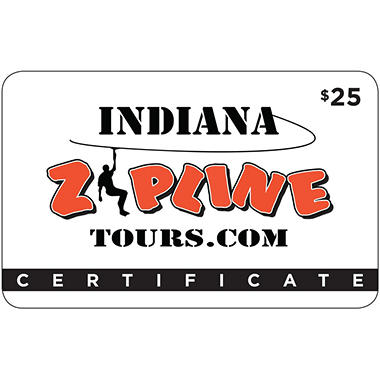 Indiana Zipline Tours - 2 x $25 for $40