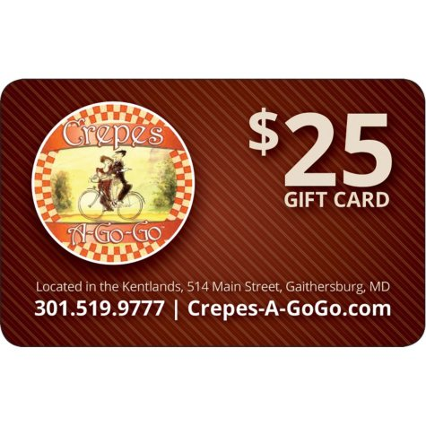 Crepes A-Go-Go 2 x $25 for $40