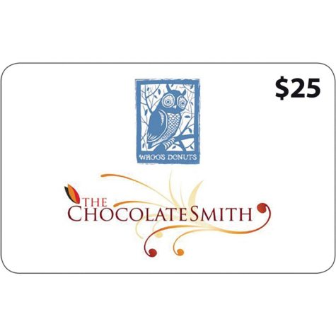 Chocolate Smith and Whoo's Donuts - 2 x $25 for $40