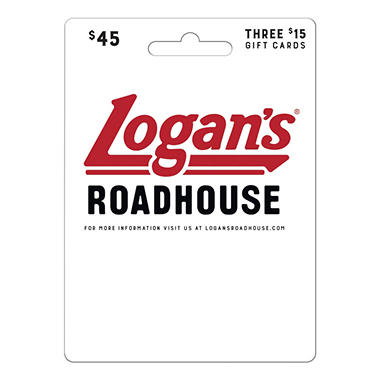Logan's Roadhouse - 3 x $15