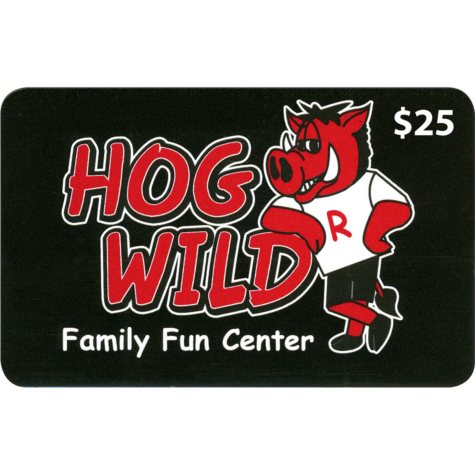 Hogwild Family Fun Center - 2 x $25 for $40
