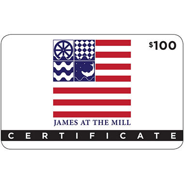James at the Mill - 1 x $100
