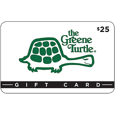 The Greene Turtle $50 Value Gift Cards - 2 x $25