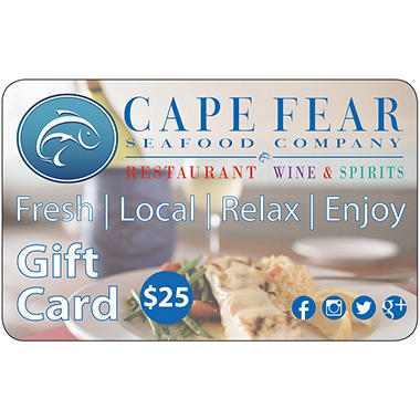 Cape Fear Seafood Company 2 x $25 for $40