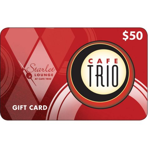 Cafe Trio Restaurant - 2 x $50