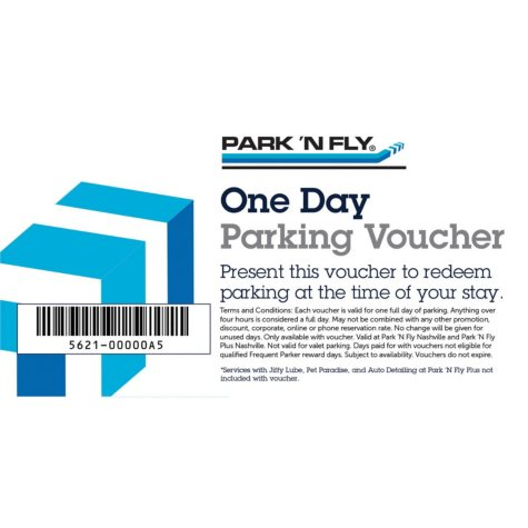 Park 'N Fly Nashville - 5 days of airport parking for $30