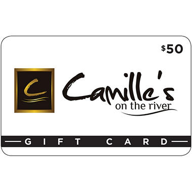 Camille's on the River 2 x $50 for $85
