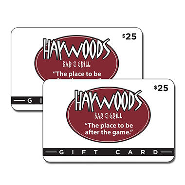 Haywood's Bar & Grill 2 x $25 for $40