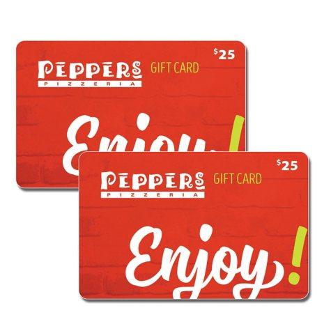 Pepper's Pizzeria - 2 x $25 for $40