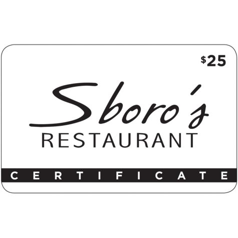 Sboro's Restaurant & Chop House - 2 x $25 for $40